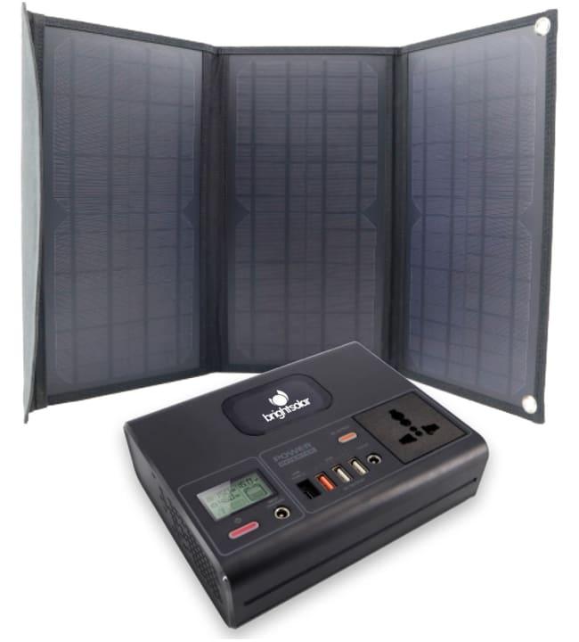 Brightsolar 120W kannettava virtalähde
