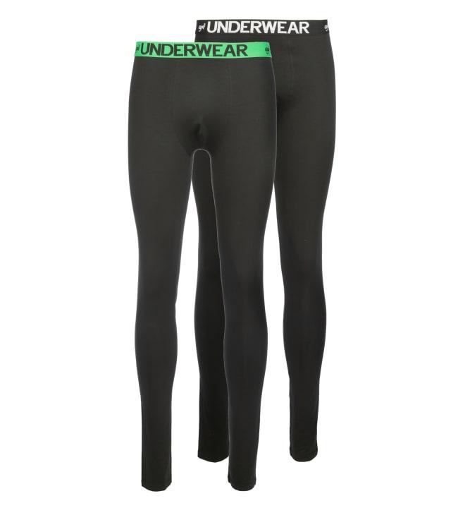 Social Underwear 2-pack miesten pitkät alushousut