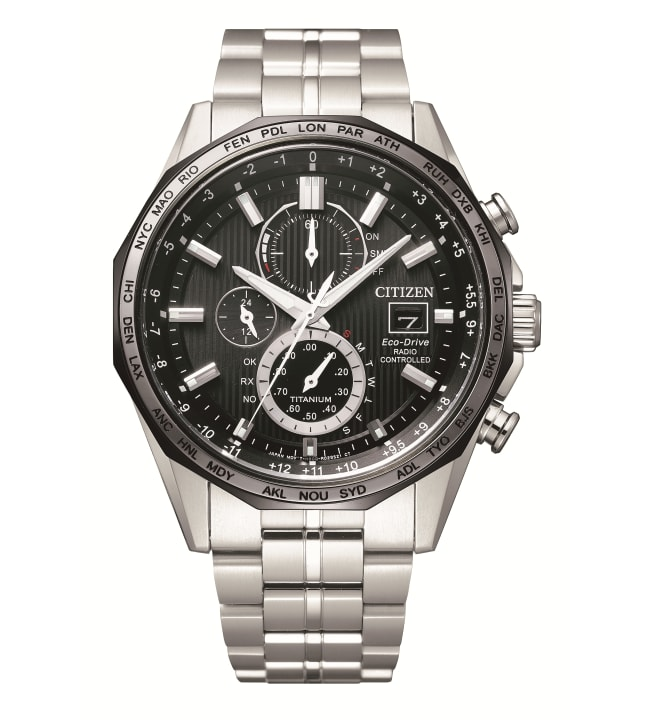 Citizen AT8218-81E Eco-Drive Radiocontrol miesten rannekello