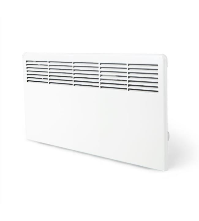 Ensto Beta7-BT-EB 750W lämmitin kytkentärasialla, seinäasennus