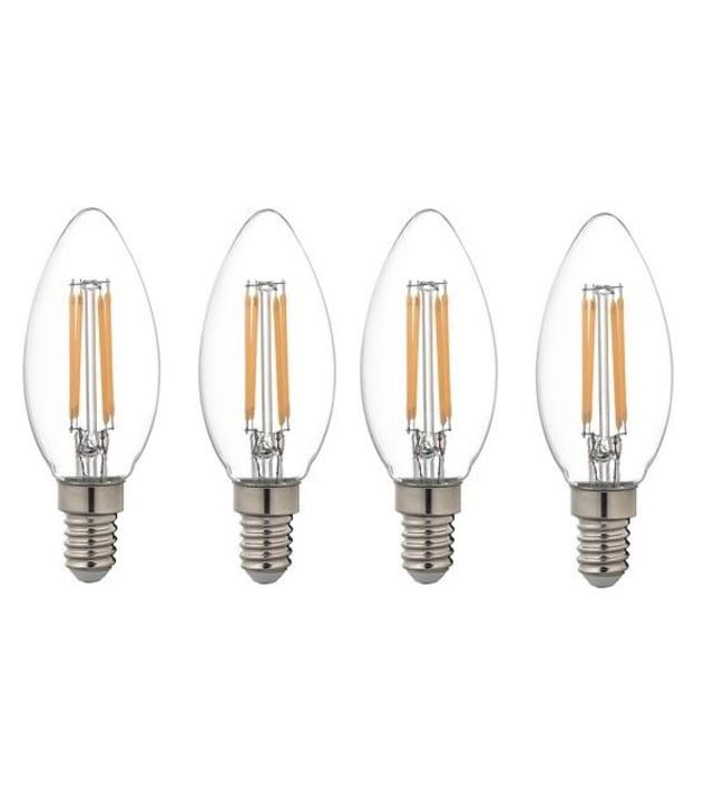 Vatti E14 4kpl 250lm filamentti ledkynttilälamppu