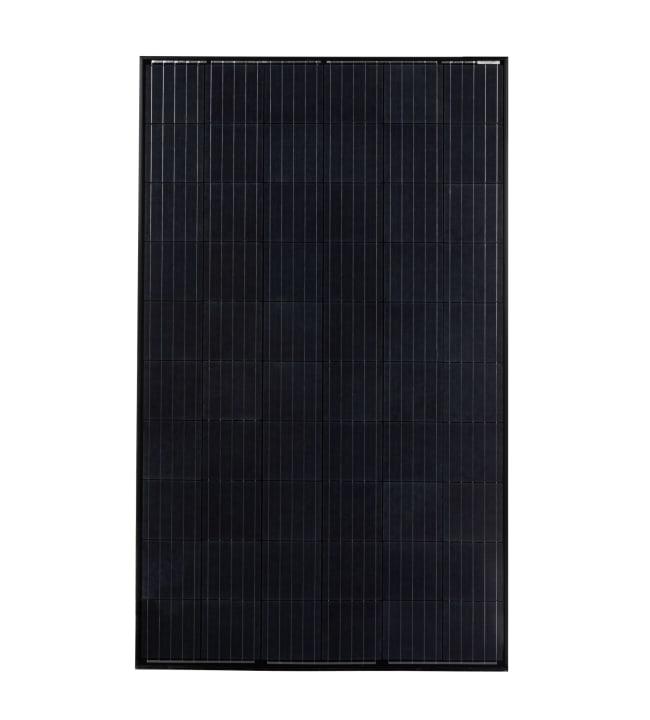 Monikide 270W musta aurinkopaneeli