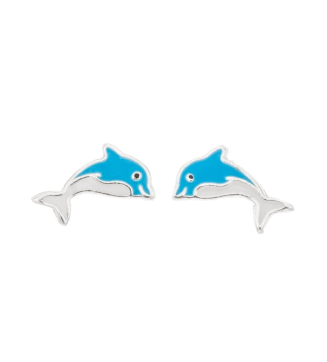 Silver Bar 8059 Delfiini hopeakorvakorut
