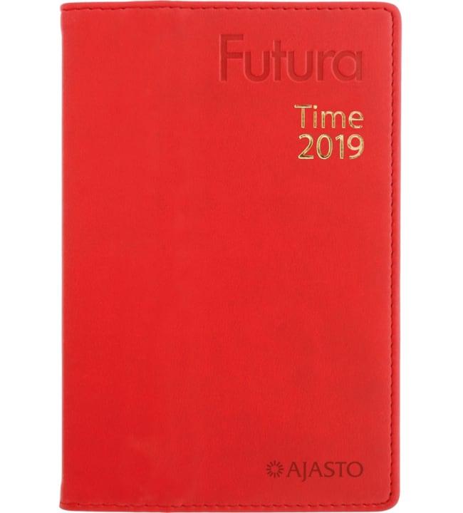 Futura Time punainen taskukalenteri 2019