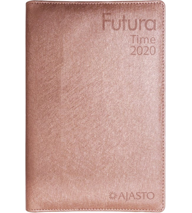 Ajasto Futura Time ruusukulta 2020 kalenteri