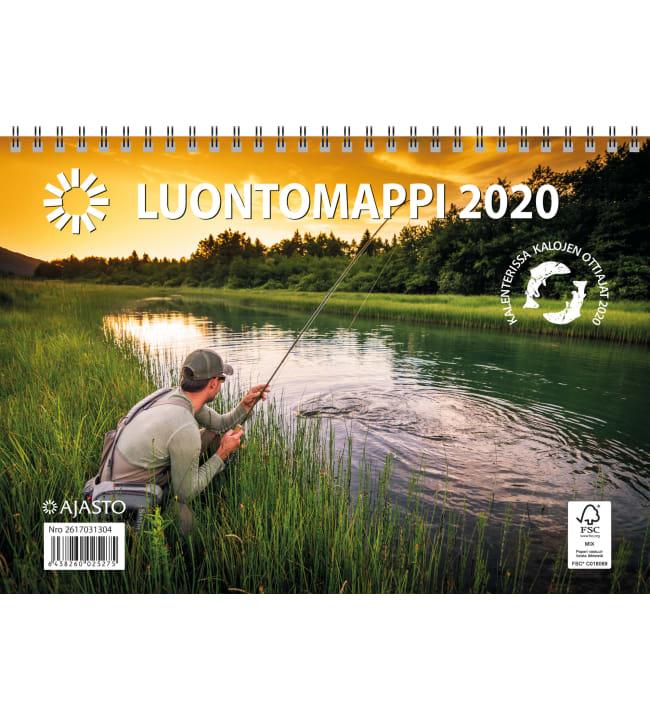 Ajasto Luontomappi 2020 seinäkalenteri