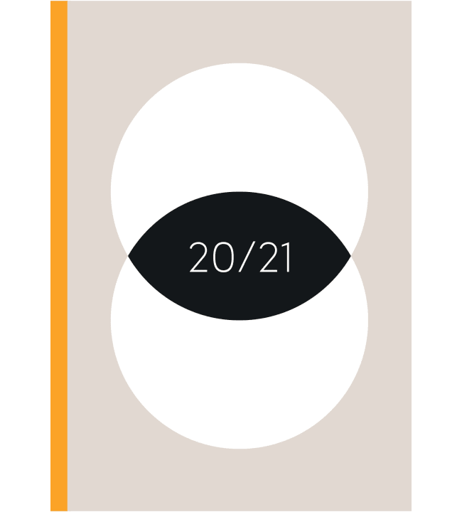 Ajasto Doodle 2020-2021 lukuvuosikalenteri