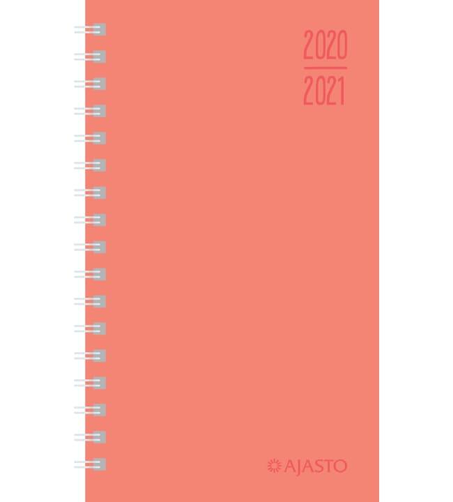 Ajasto Simple koralli 2020-2021 lukuvuosikalenteri