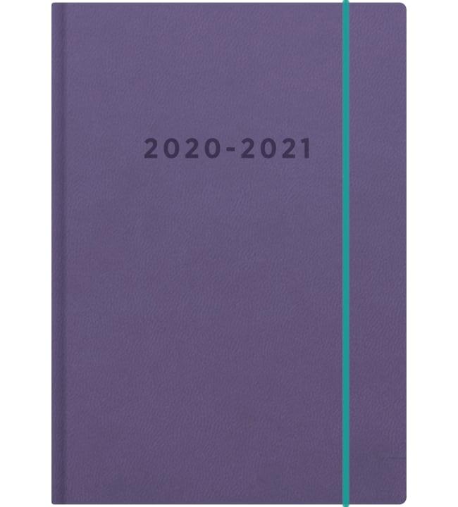 Ajasto Color liila 2020-2021 lukuvuosikalenteri