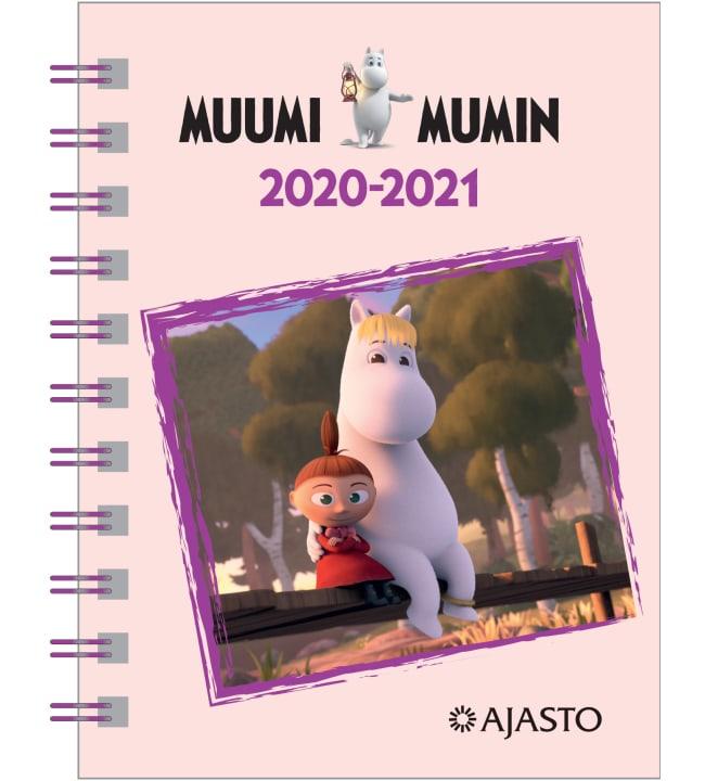Ajasto Muumi 2020-2021 lukuvuosikalenteri