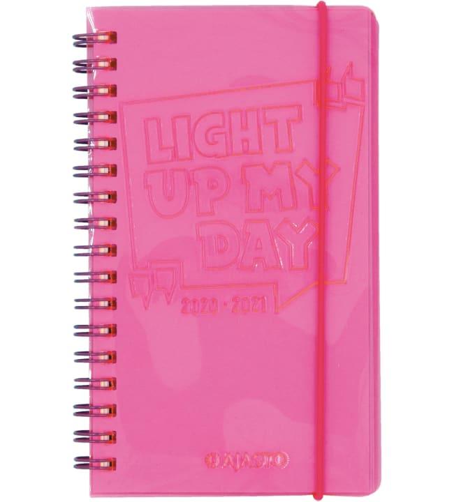 Ajasto Neon pinkki 2020-2021 lukuvuosikalenteri
