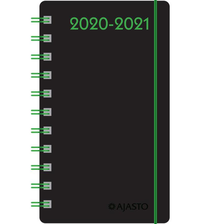 Ajasto Day 2020-2021 lukuvuosikalenteri