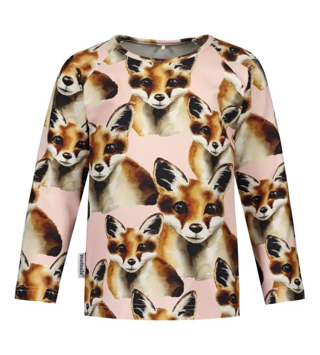 Metsola Fox lasten t-paita