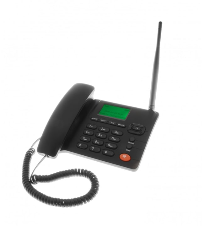 Erifon 3G musta pöytä GSM