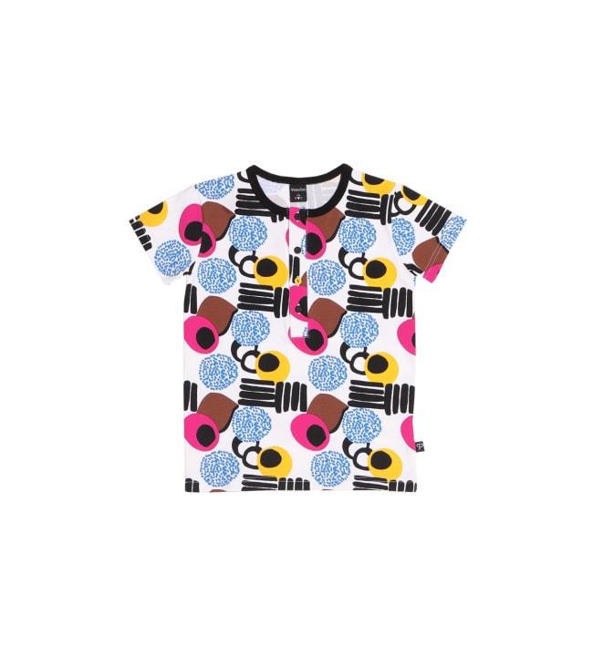 PikkuSet Karkki lasten nappilista t-paita
