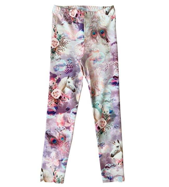 Pop&Co Elicia lasten unicorn leggingsit