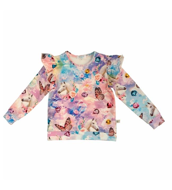 Pop&Co Fey Unicorn lasten paita