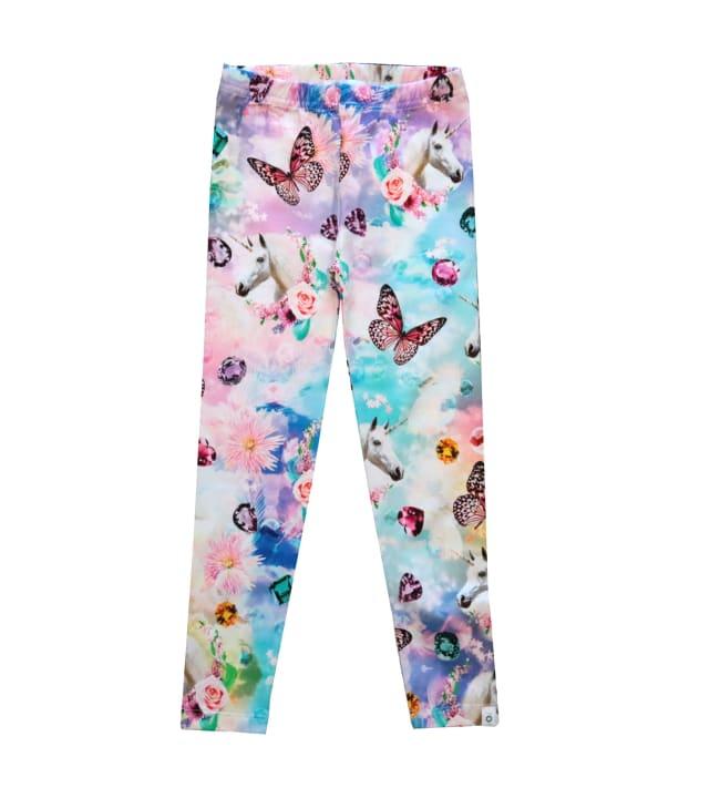 Pop&Co Elicia Unicorn lasten leggings