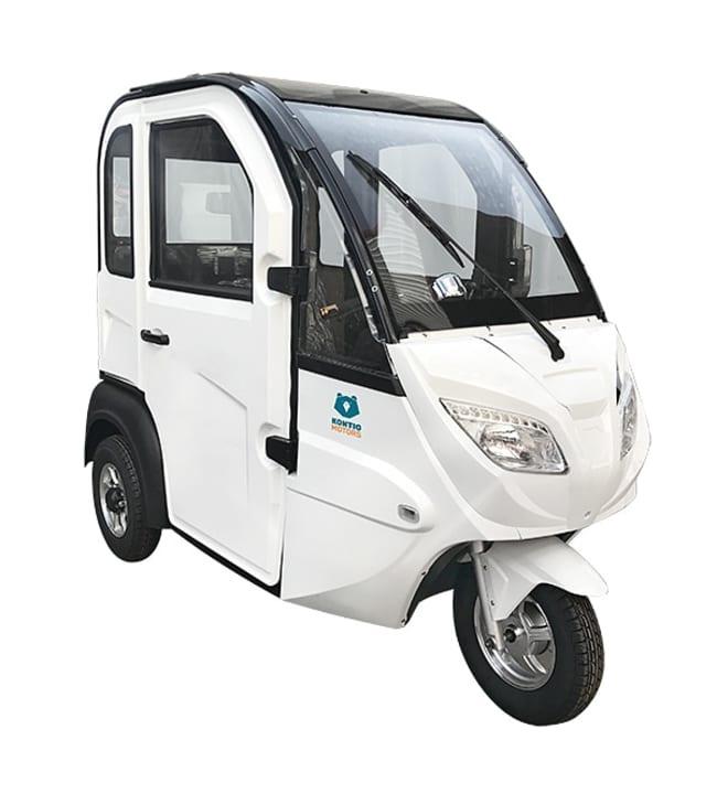 Kontio Motors Autokruiser valkoinen