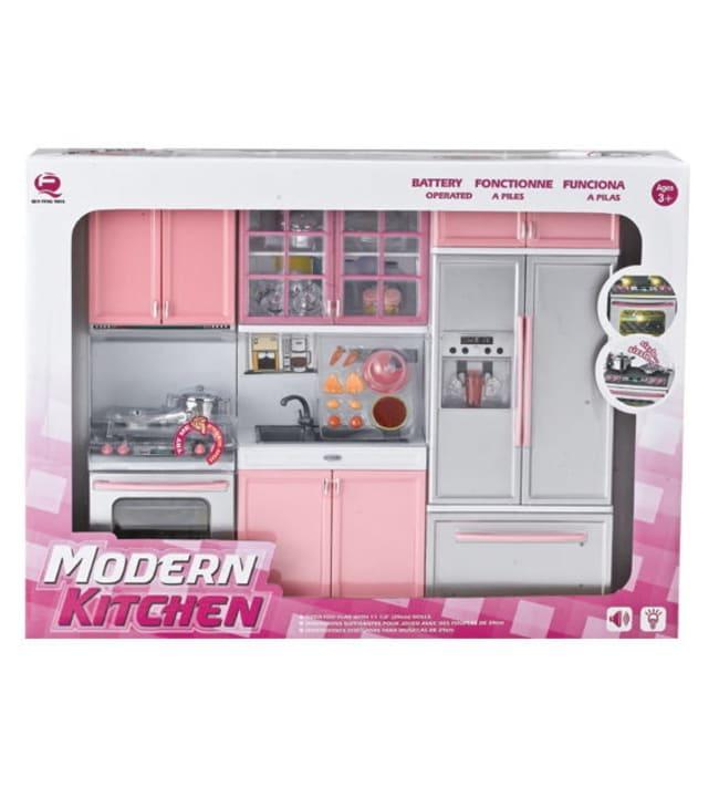 Modern Kitchen muotinuken keittiö