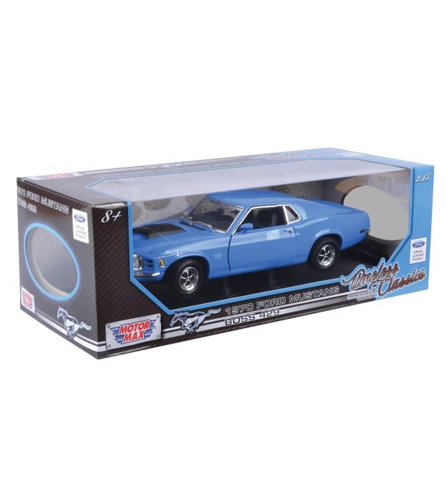 Motor Max 1:18 1970 Ford Mustang Boss 429 pienoismalli