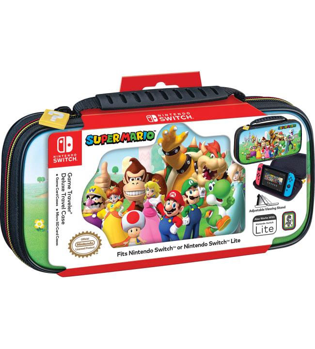 Nintendo Switch Deluxe Travel Case Super Mario suojakotelo