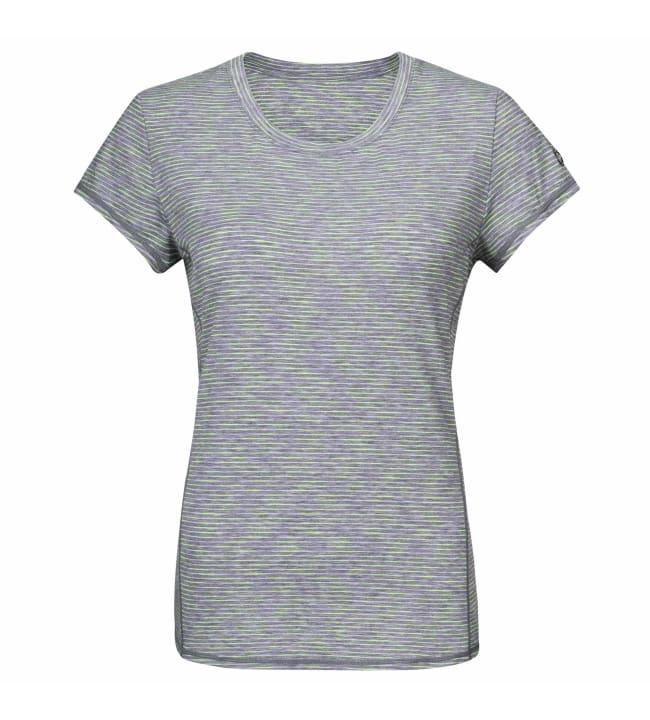 Yvette Green Stripe naisten treeni t-paita