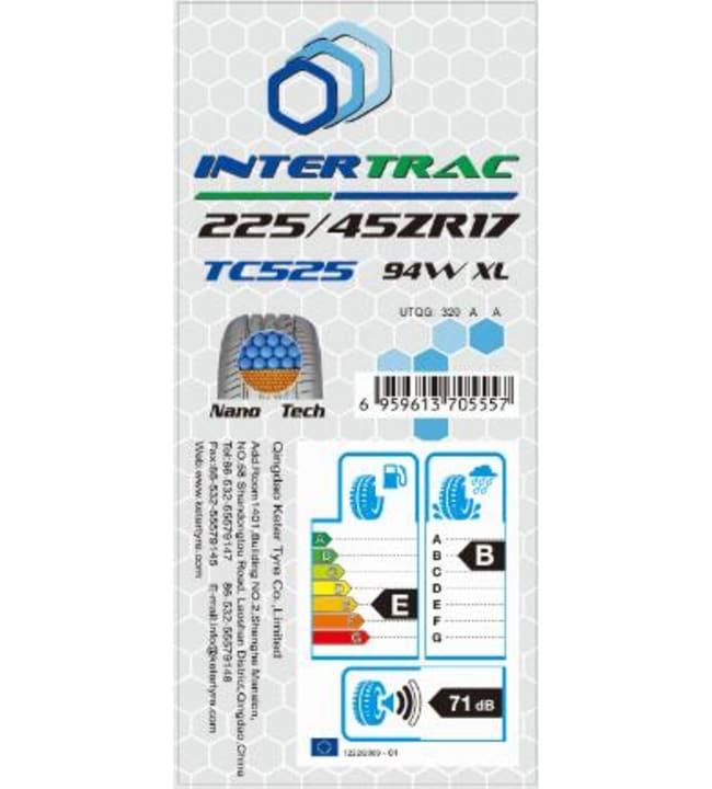 Intertrac TC525 225/40-18 92WXL kesärengas