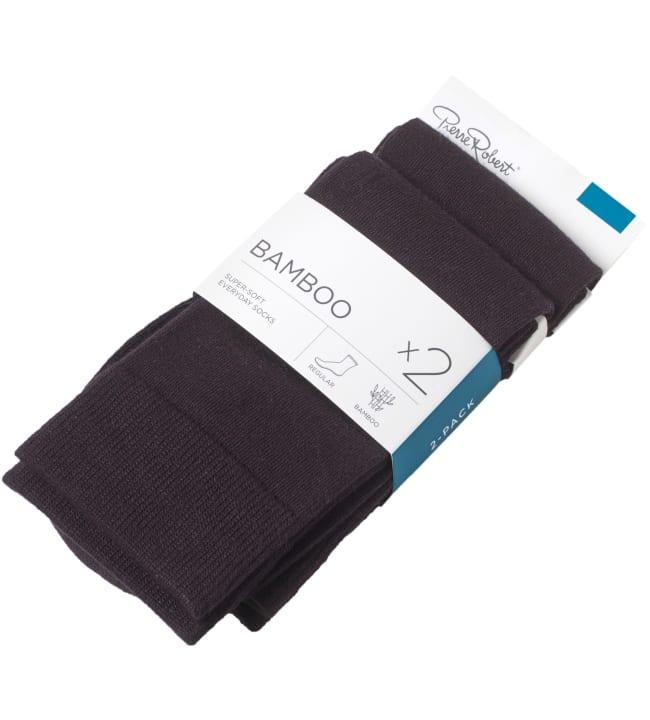 Pierre Robert Bamboo 2-pack miesten sukat