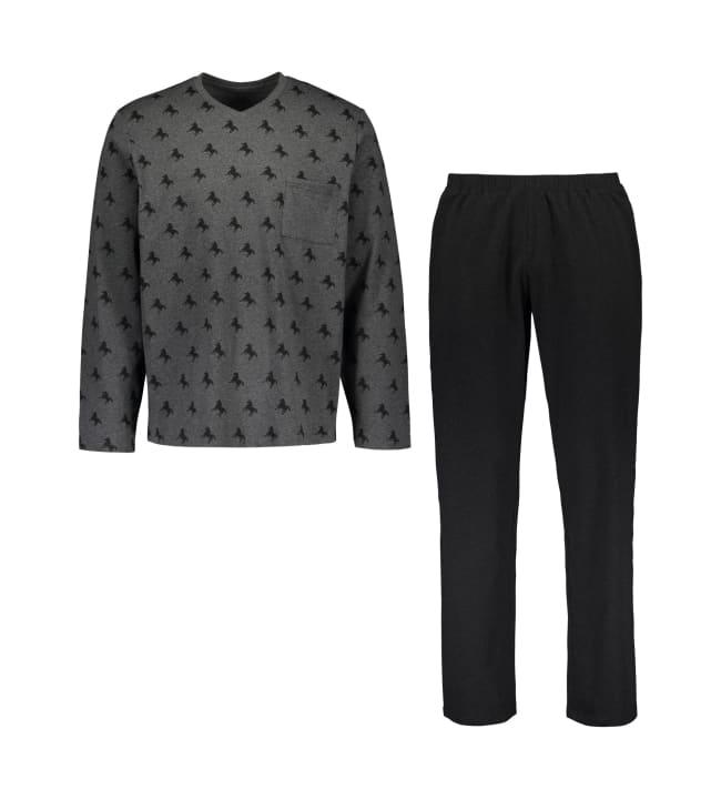 Black Horse  Regular miesten pyjama