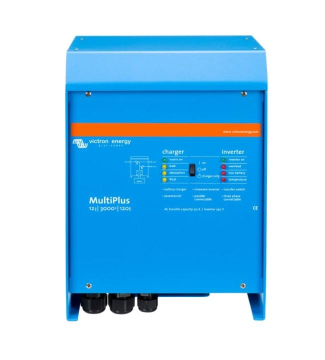 Victron MultiPlus 12 V 3000 VA 120 A invertterilaturi