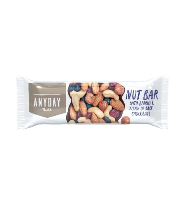 Anyday 40 g pähkinäpatukka siemenillä