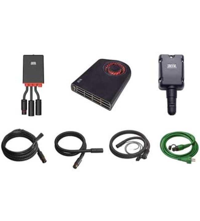 Defa WarmUp II 1900 Bluetooth® lämmitysjärjestelmä