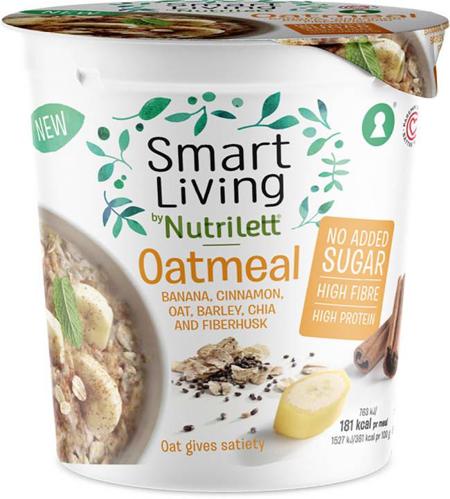Nutrilett Smart Living Banana 50 g kaurapuuro