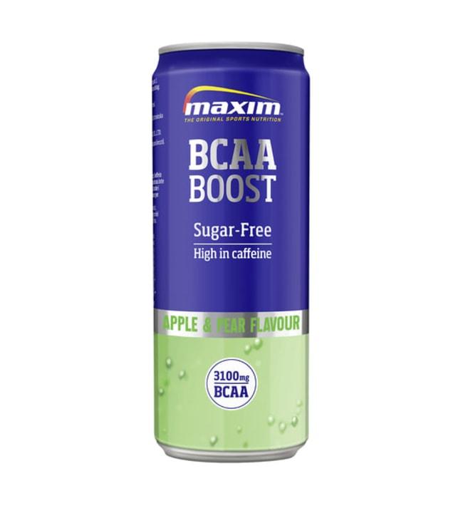 Maxim BCAA Boost Apple & Pear 330 ml urheilujuoma