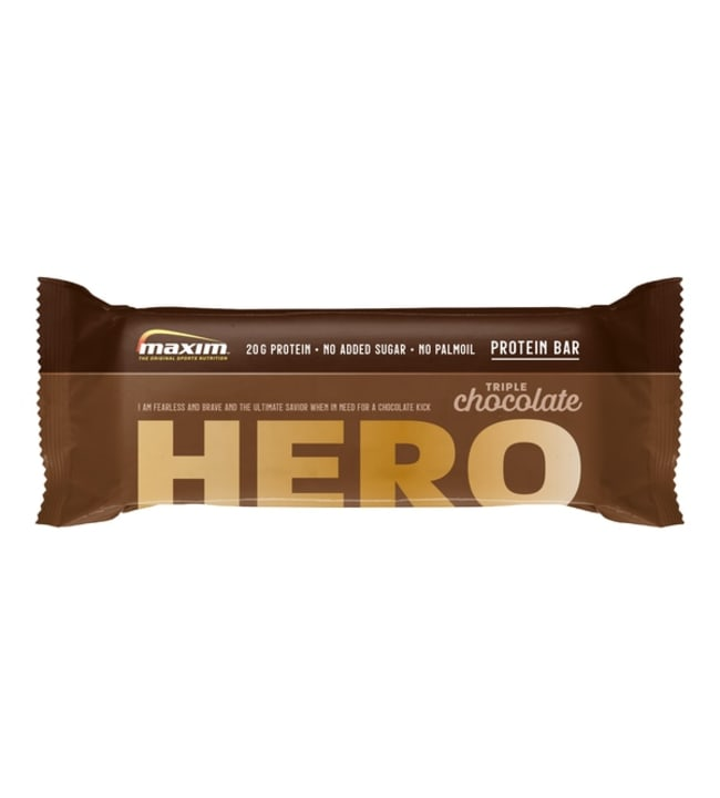 Maxim Hero Triple Chocolate 57 g proteiinipatukka