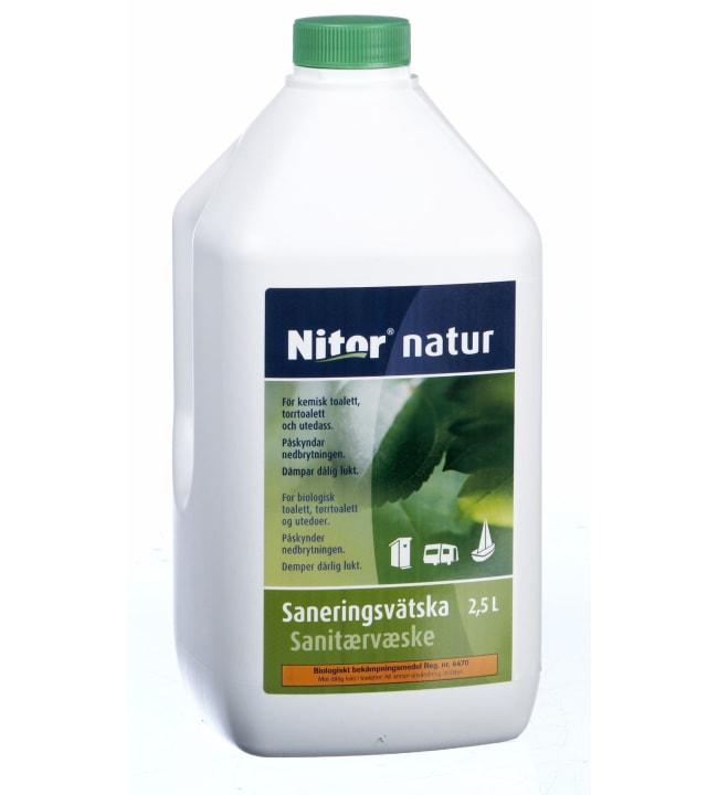 Nitor Natur 2,5 l saniteettineste