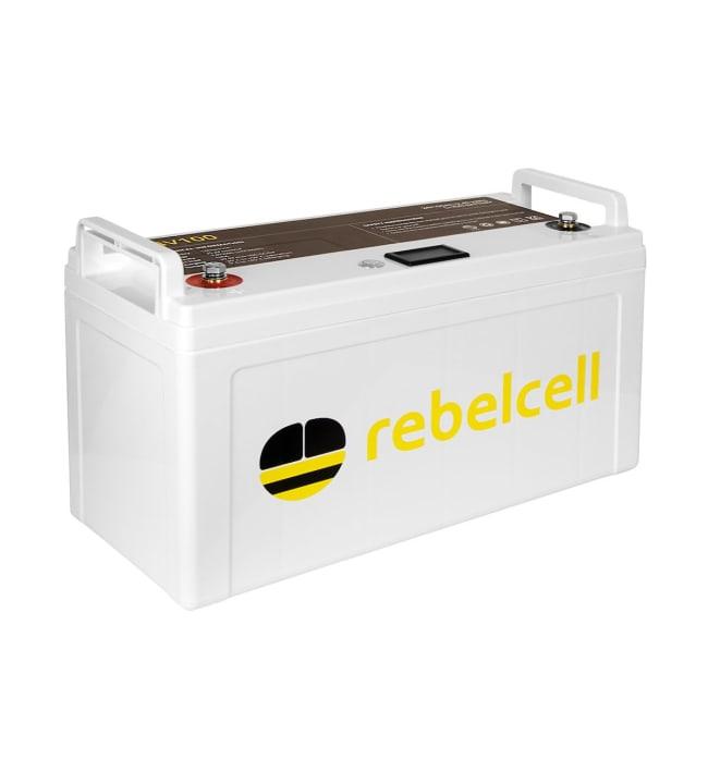Rebelcell Li-Ion 24V/100A akku jännite/varausnäytöllä
