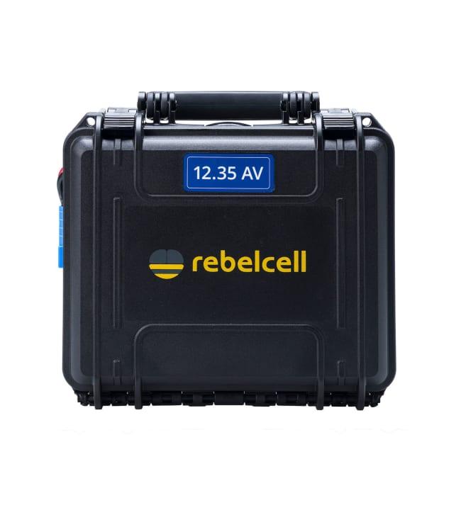 Rebellcell Akku 12V/70A kuljetuslaatikossa