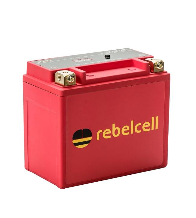 Rebelcell Li-Ion akku starttimoottorille