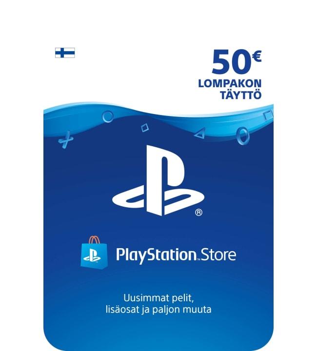 Sony PlayStation Network 50 euron kortti