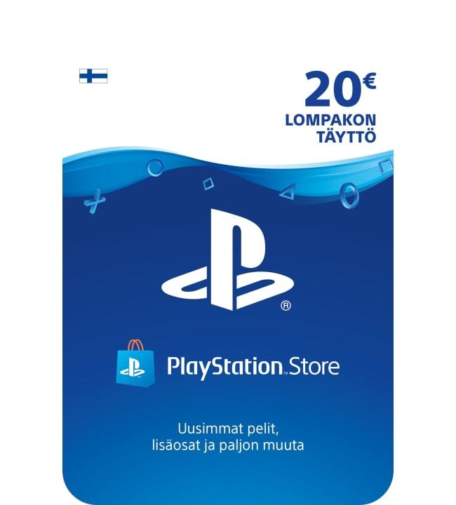 Sony PlayStation Network 20 euron kortti
