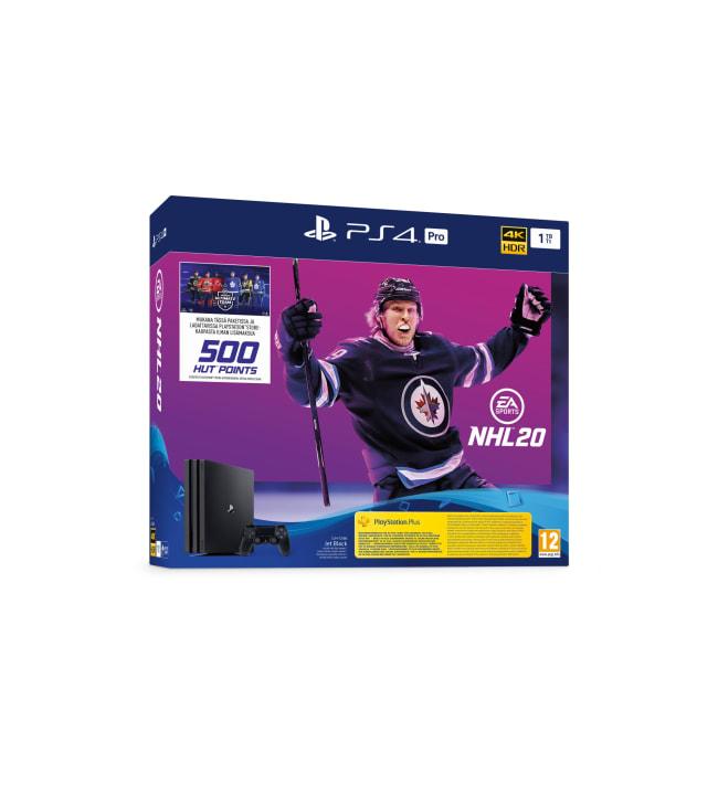 Sony PS4 Pro 1TB + NHL 20 bundle pelikonsoli