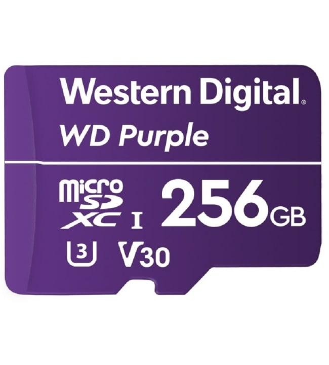 WD Purple Surveillance 256GB microSDXC muistikortti