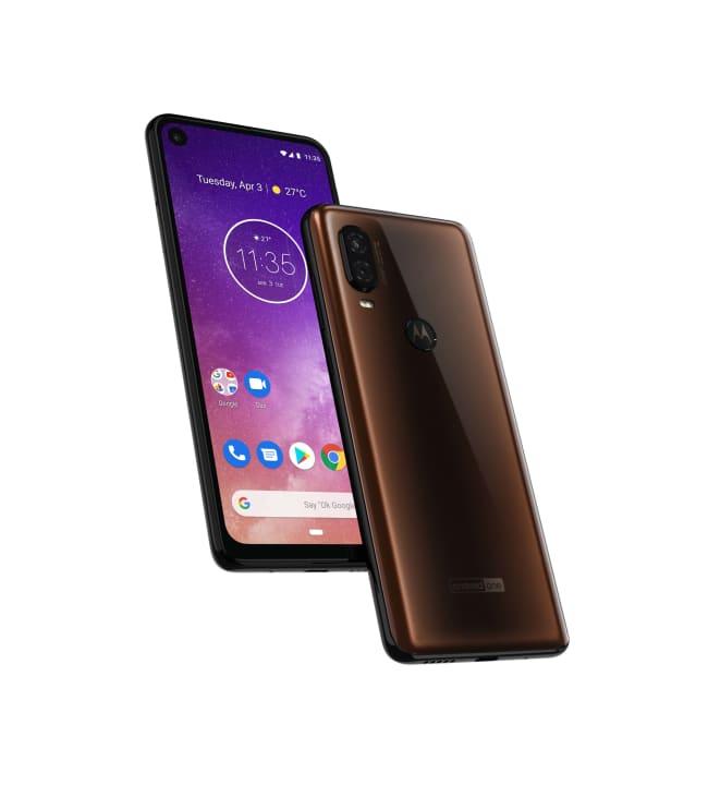 Motorola One Vision älypuhelin