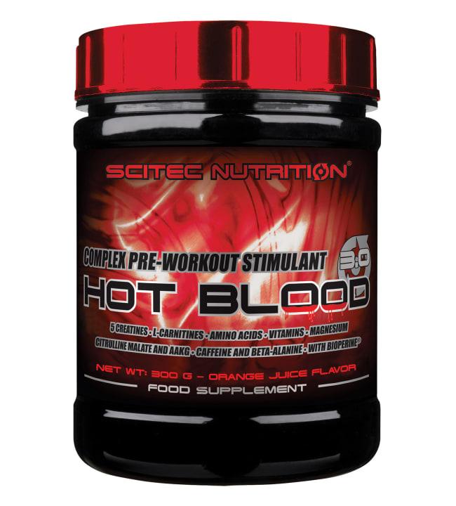 Scitec Nutrition Hot Blood 3.0 Orange Juice 300 g tehonlisääjä