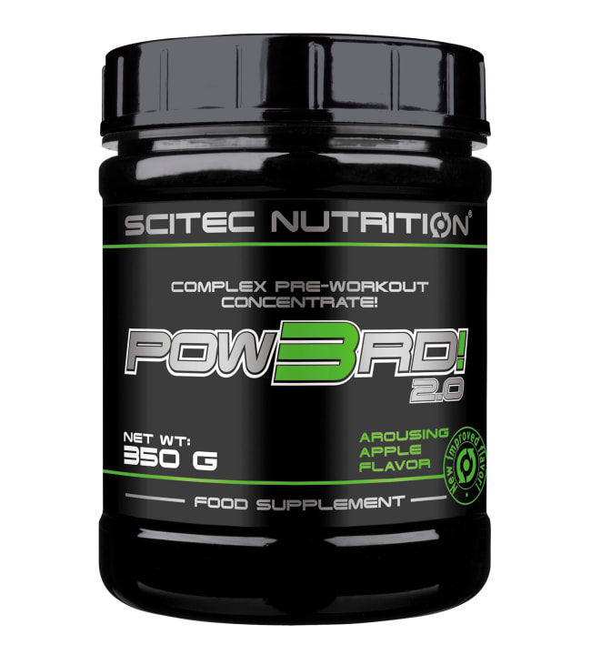 Scitec Nutrition Pow3rd! 2.0 Arousing Apple 350 g latausjuoma