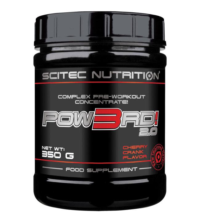 Scitec Nutrition Pow3rd! 2.0 Cherry Crank 350 g latausjuoma