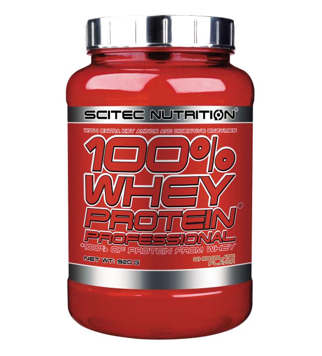 Scitec Nutrition 100% Whey Protein Prof. Chocolate 920 g heraproteiinijauhe