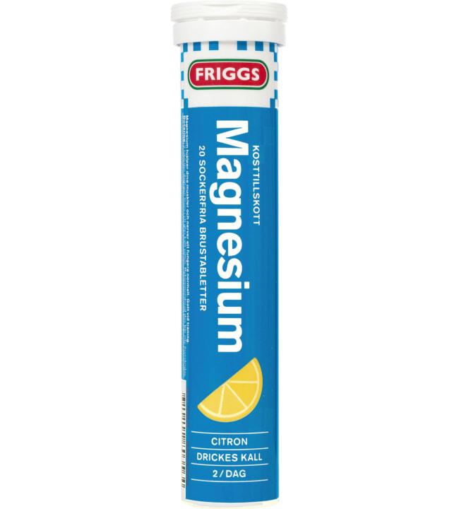 Friggs Magnesium 20 kpl poretabletti